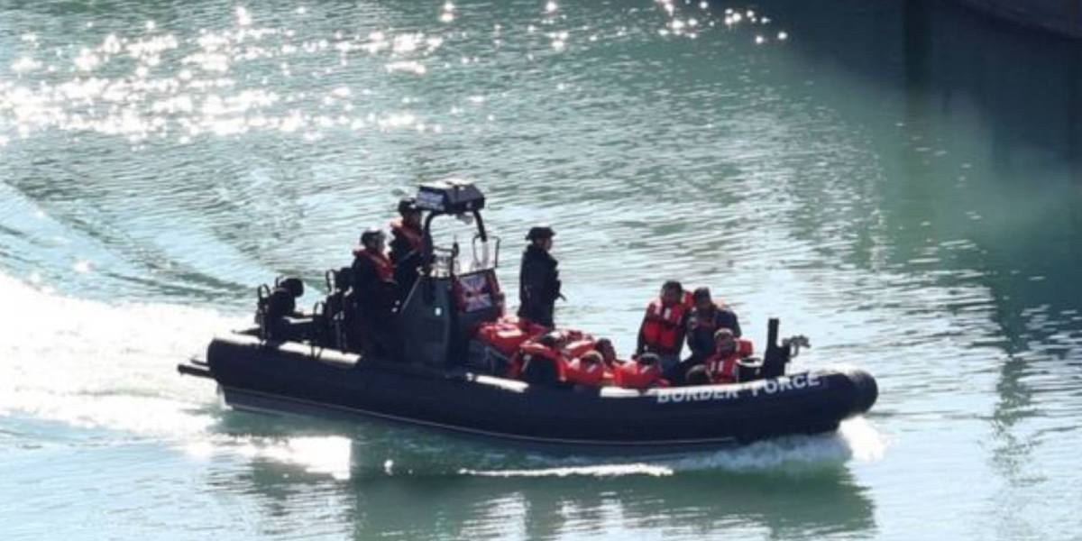 Drones monitor south coast of England for migrant boats