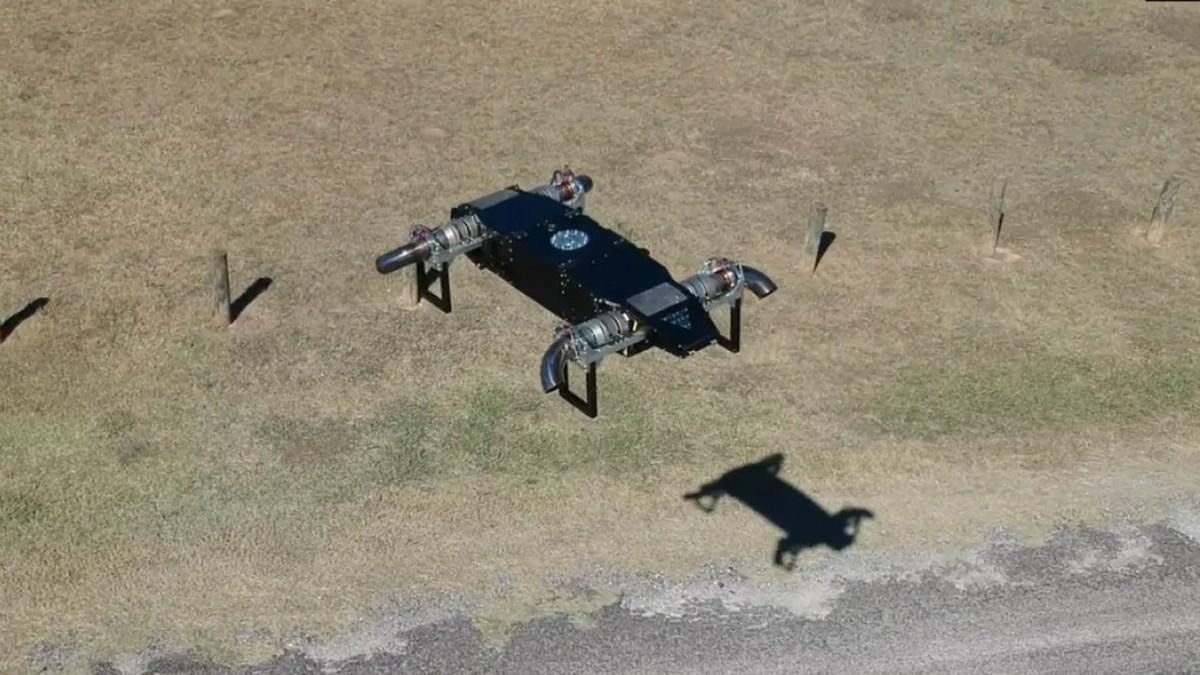 Fusion Flight jet-powered drone