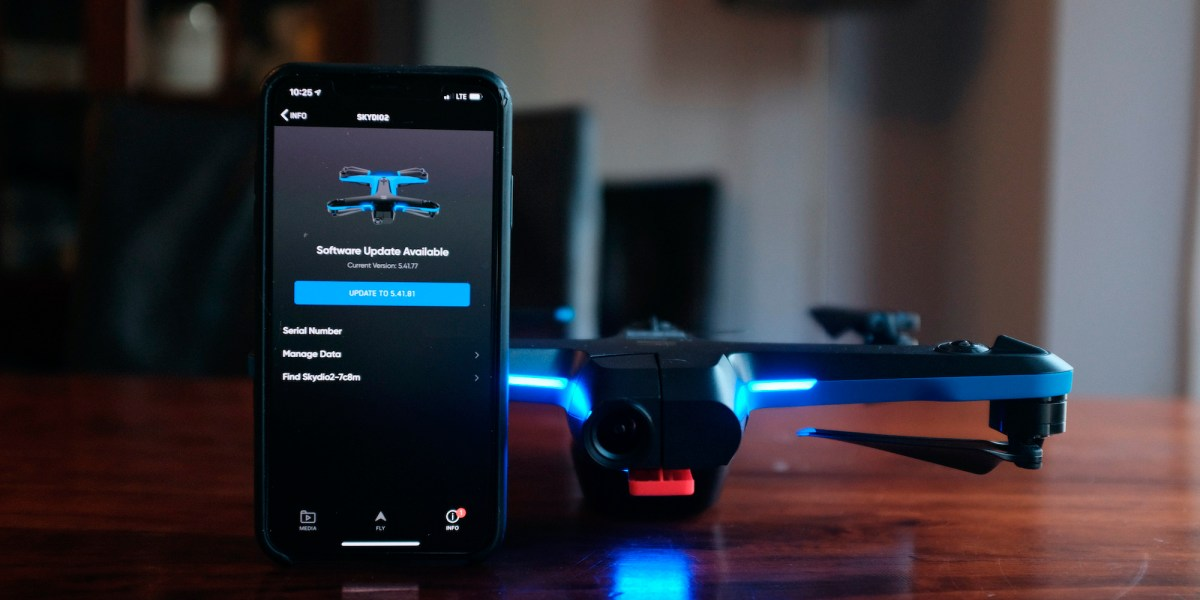 New firmware update for Skydio 2 - version 5.41.77