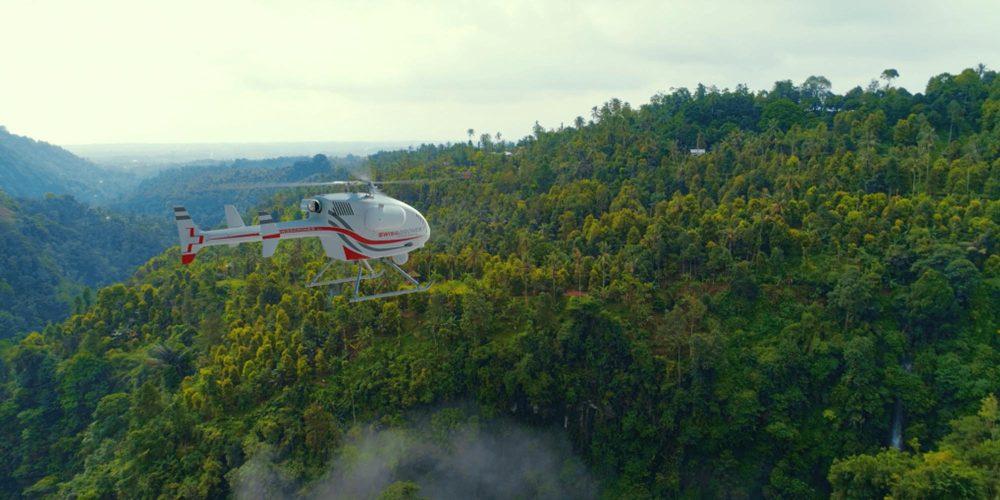 SwissDrones Australia forest