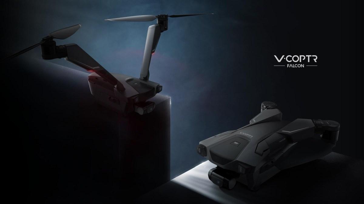 V-Coptr Falcon bi copter