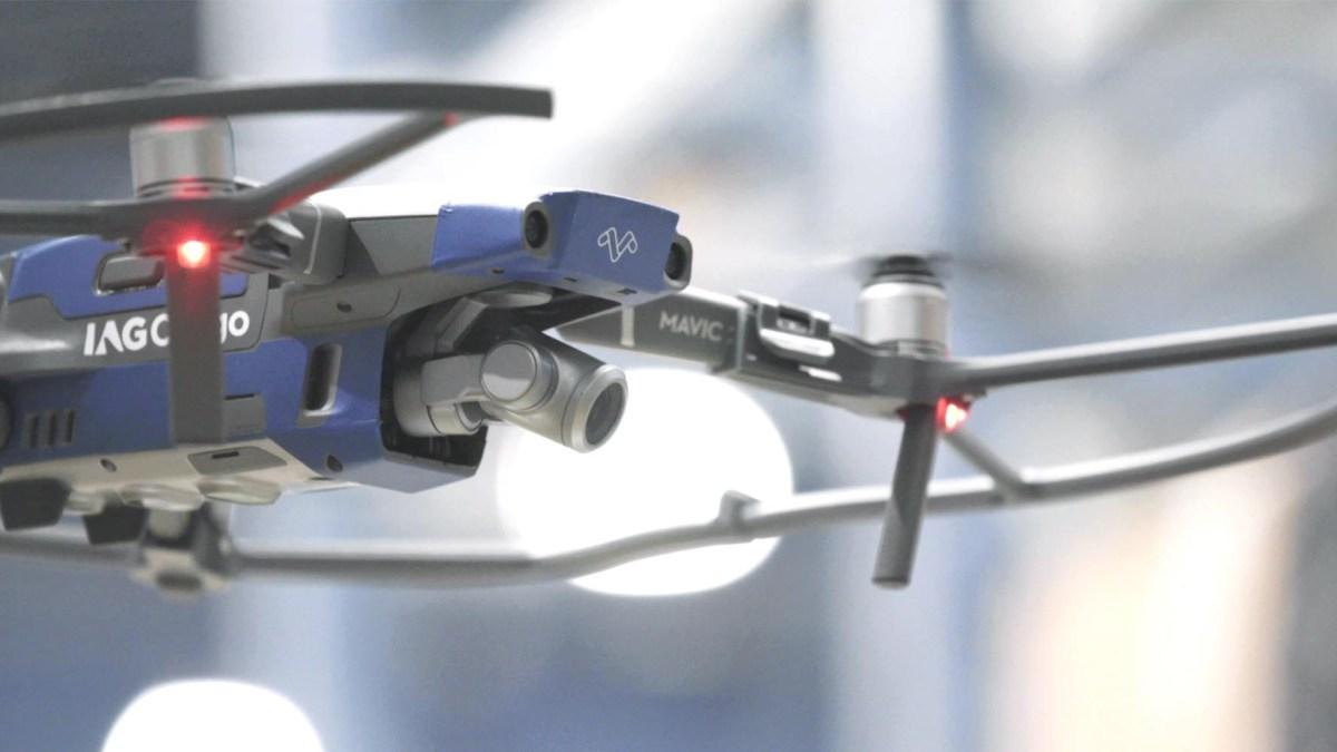 cargo inventory drones