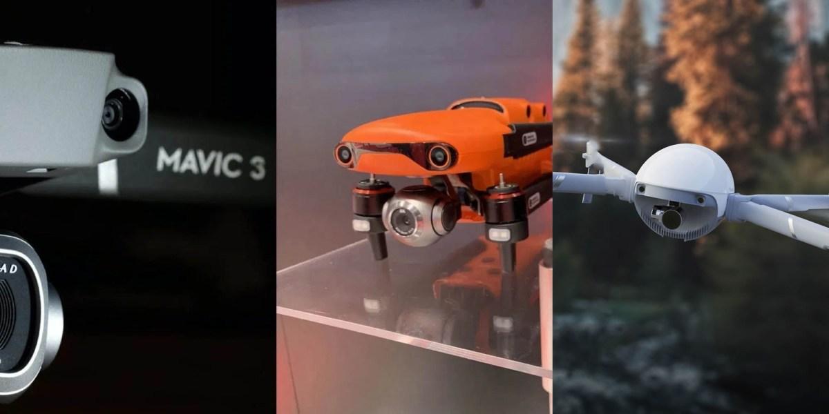 2020 drones DJI Autel PowerVision