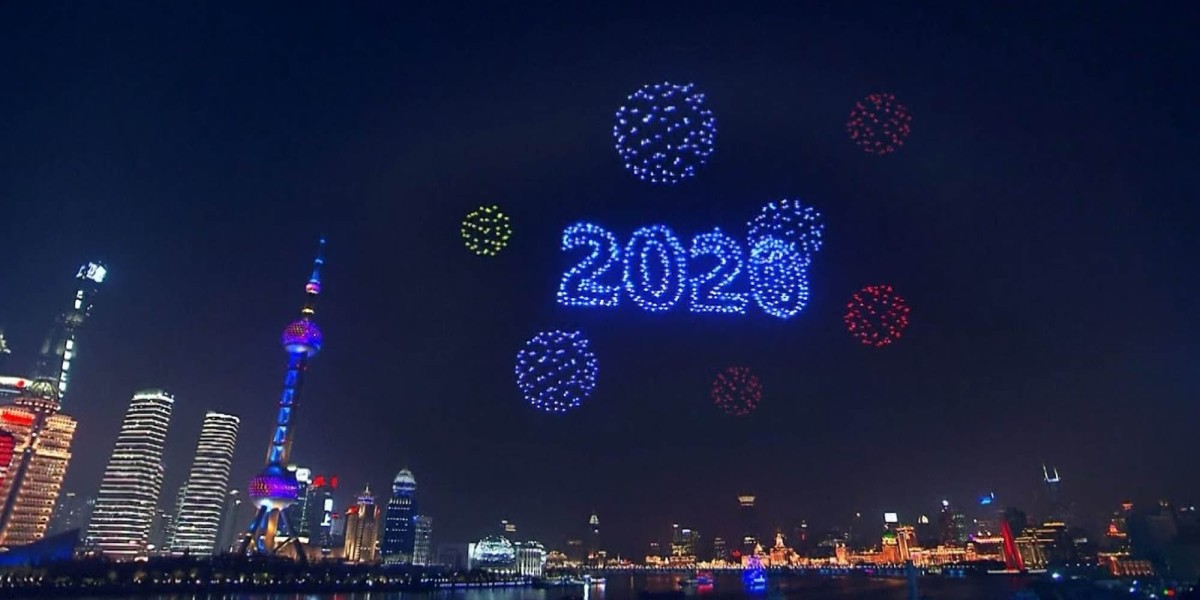 Chinese drone display 2020