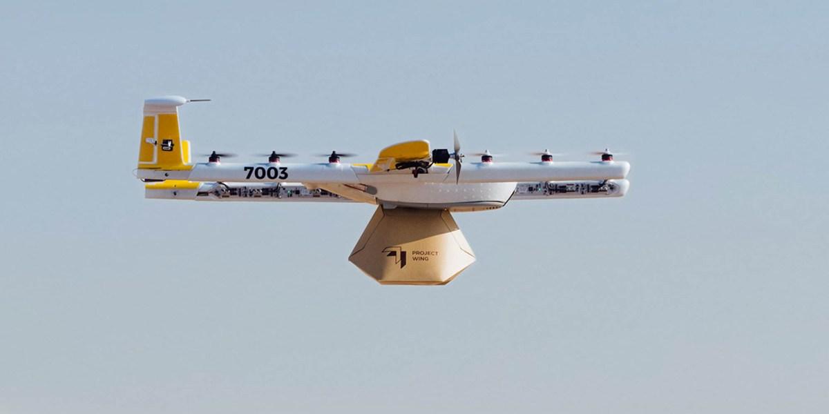 Google Wing Aviation UK