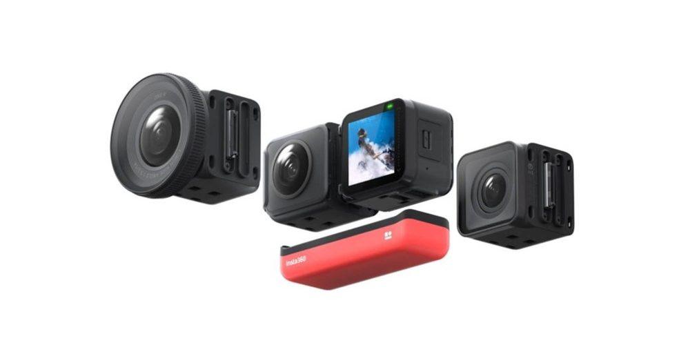 Insta360 ONE R camera webcam