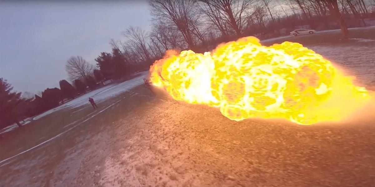 Nurk flamethrower