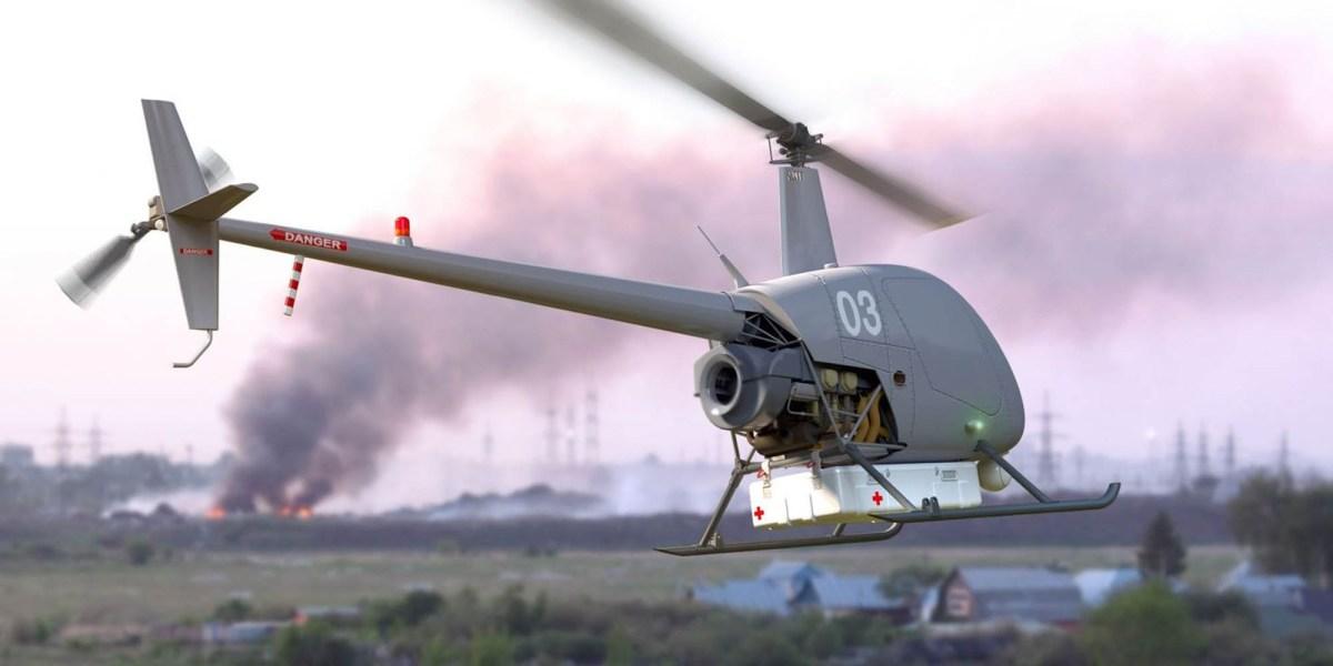 UAVOS autonomous cargo drone