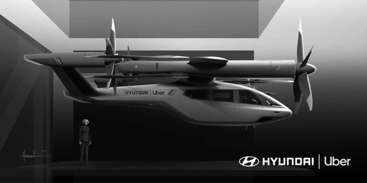 Uber Air partner Hyundai