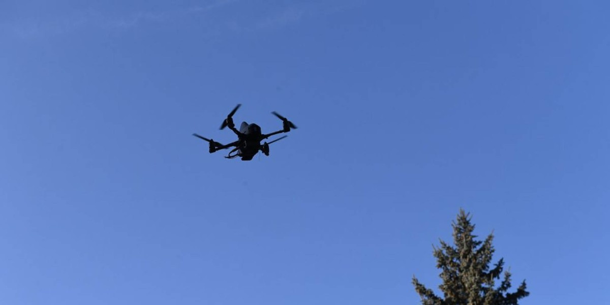 Ukrainian Berehynya drone solider