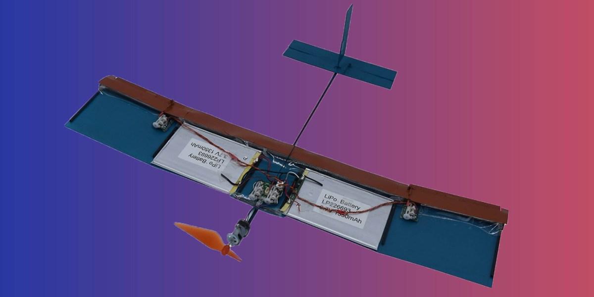 bio wing drone turbulence