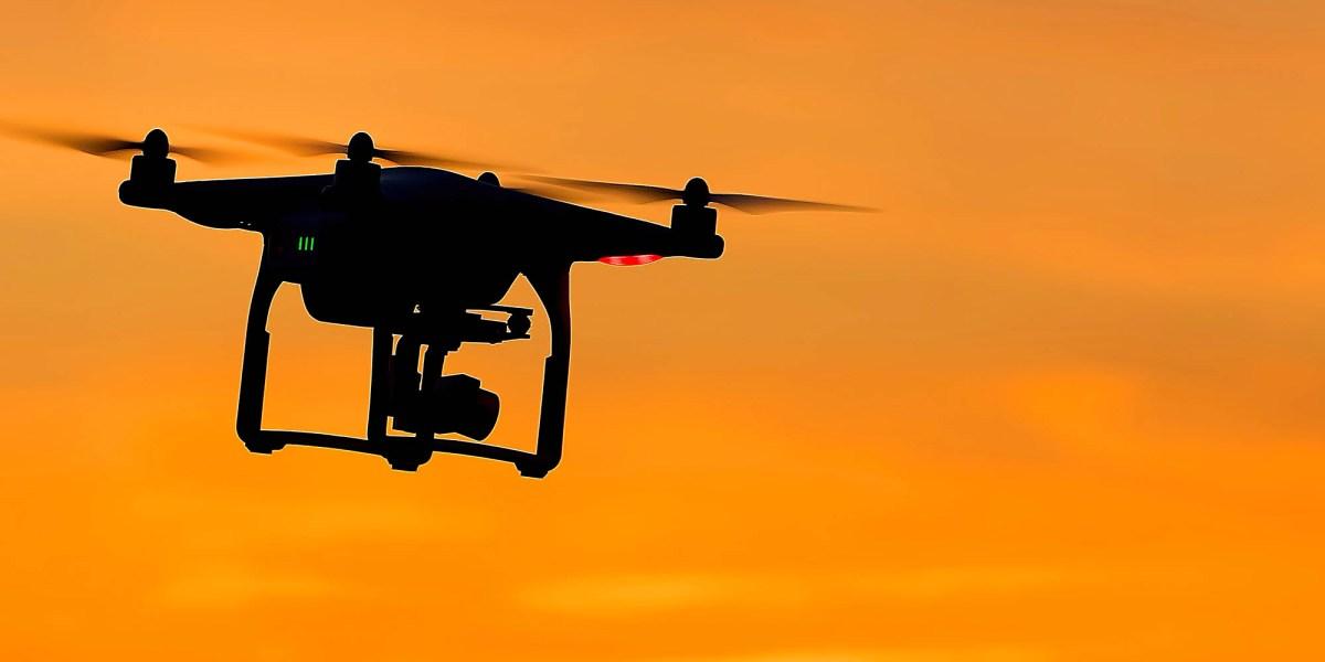 drone firefighter bushfire halted