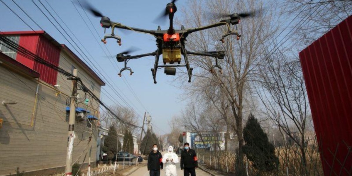 Coronavirus may be a boost for deliveries by drone