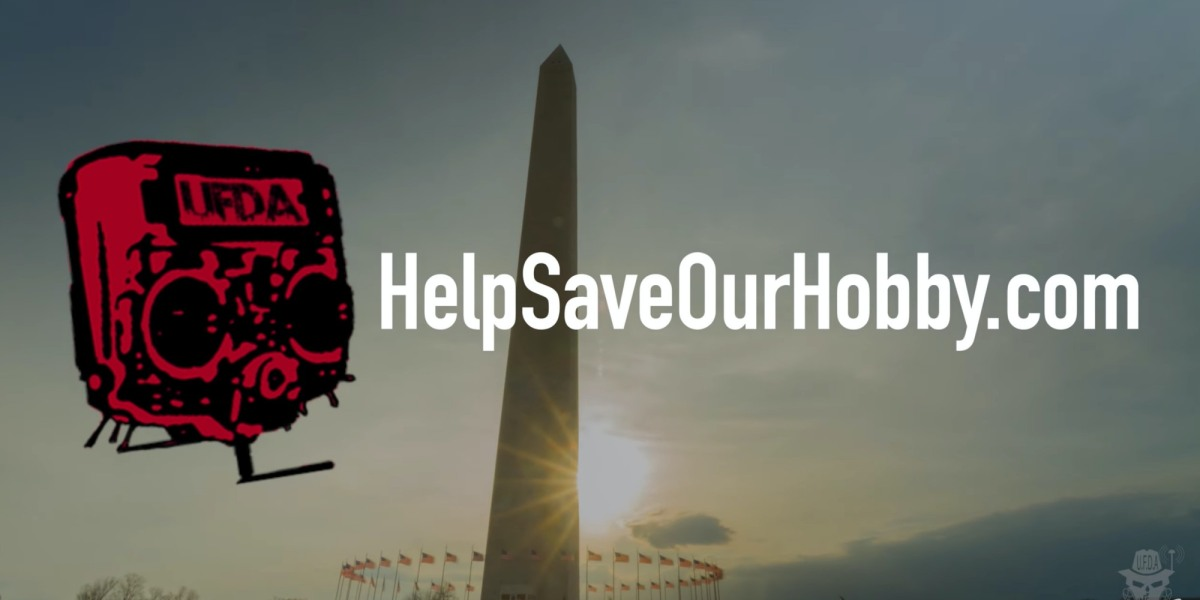 'Help save out hobby' protest at FAA headquarters in Washington D.C.