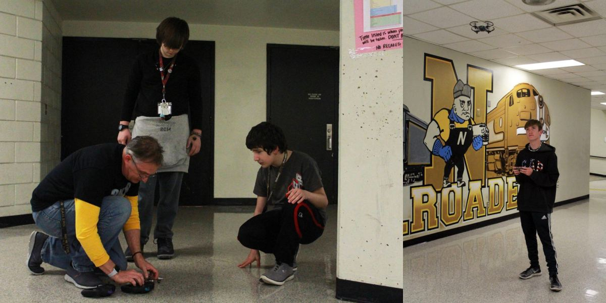 NHS students fly high in new drone club in Kansas