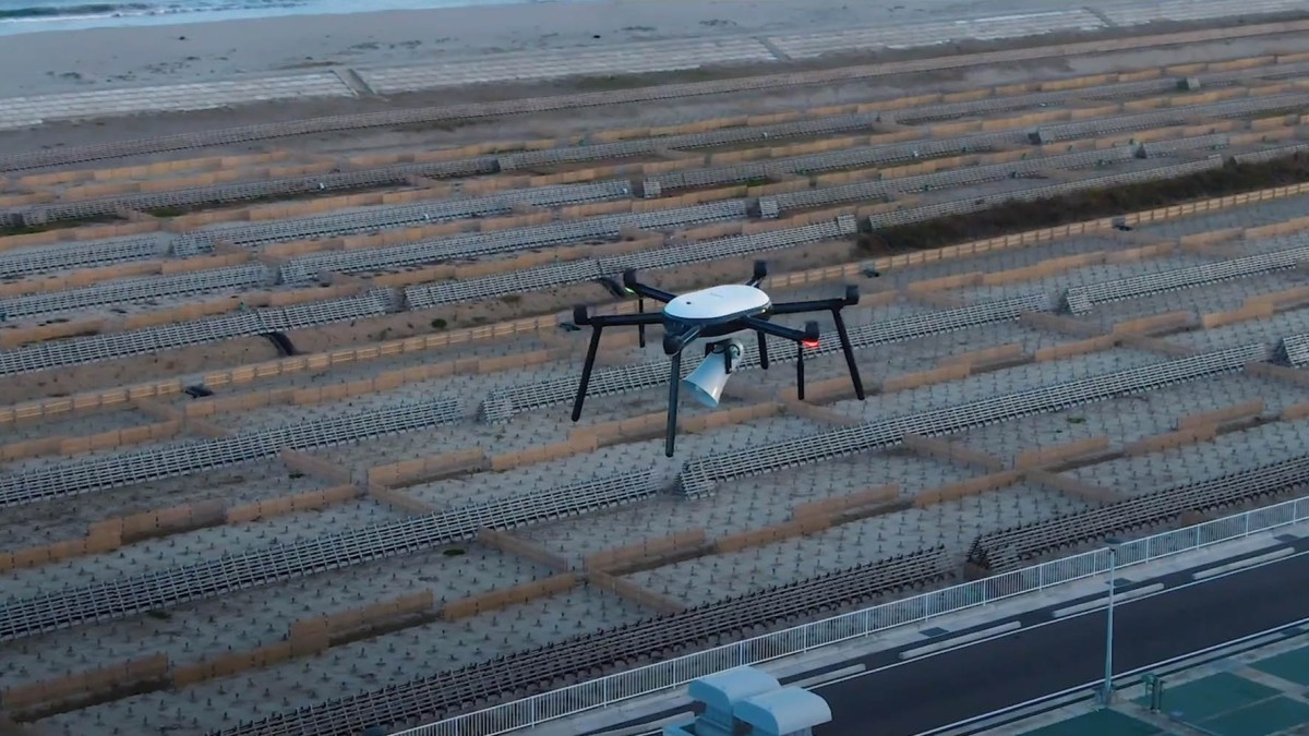 Nokia tsunami drones disaster