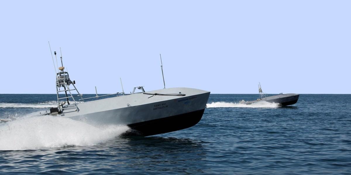 US Navy ocean drones