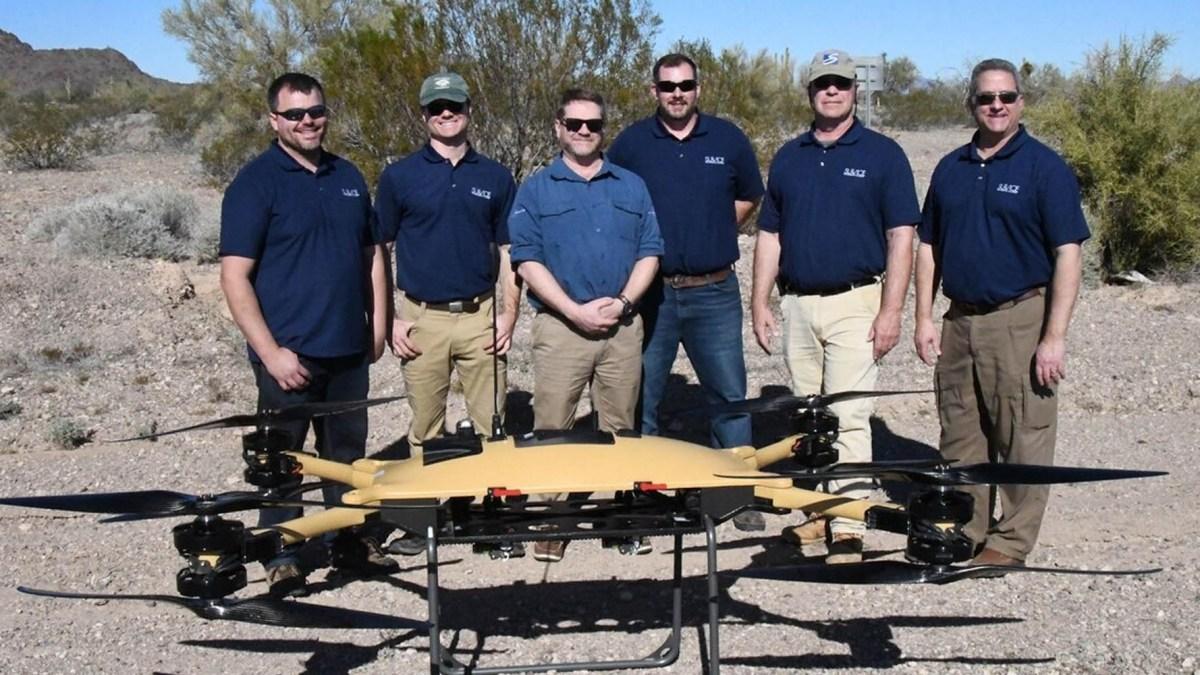 deliver drones supplies marines army