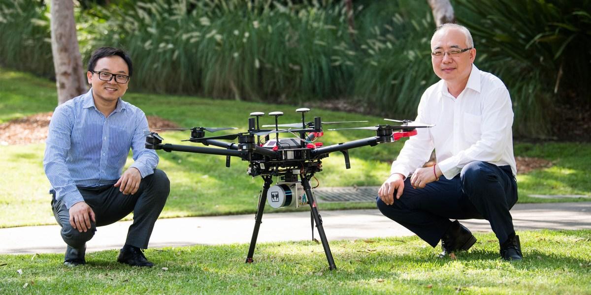 drones bushfire prevention Australia
