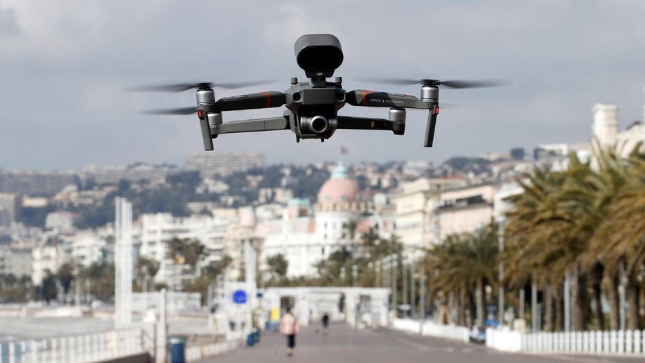 French Riviera police use drones to give coronavirus orders