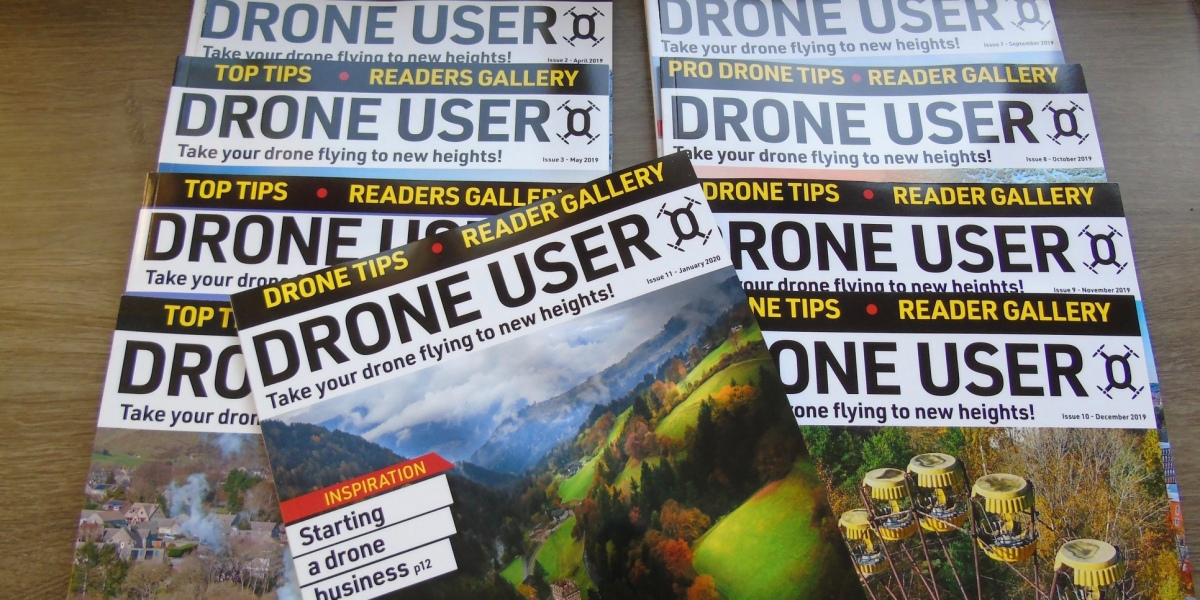 Help save Drone User Magazine and subscribe to their magazine