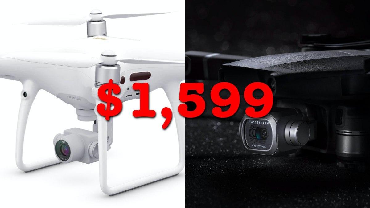 DJI lowers price on the Mavic 2 Pro and Phantom 4 Pro V2.0 to $1,599
