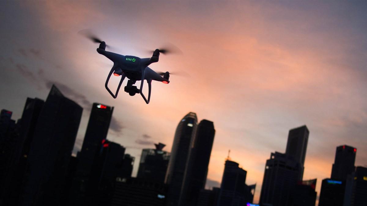 Drone sighting Frankfurt Airport