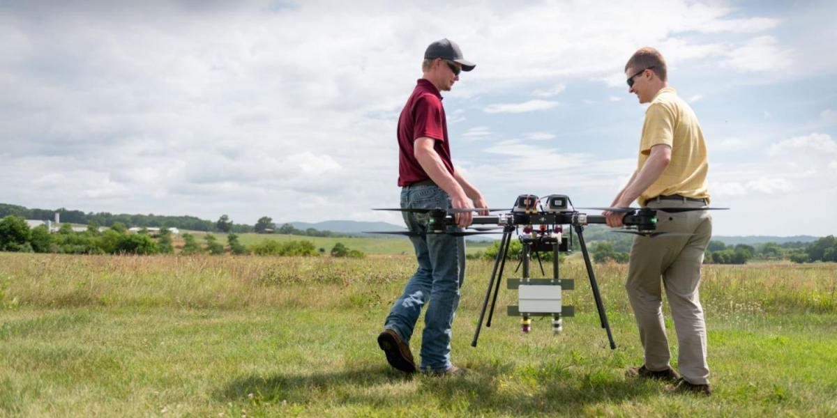 Drones with 'detect and avoid' tech tested in Blacksburg, Virginia