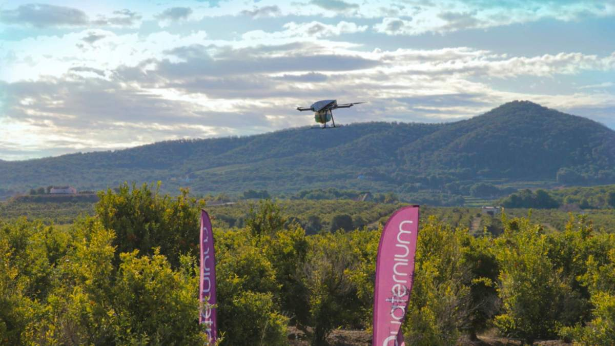 Spanish Quaternium sets drone flight time record of eight hours and ten minutes
