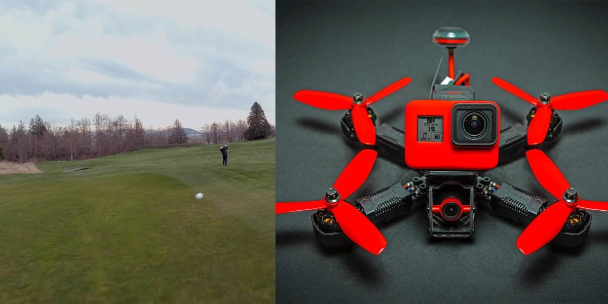 fpv drone golf sport racing