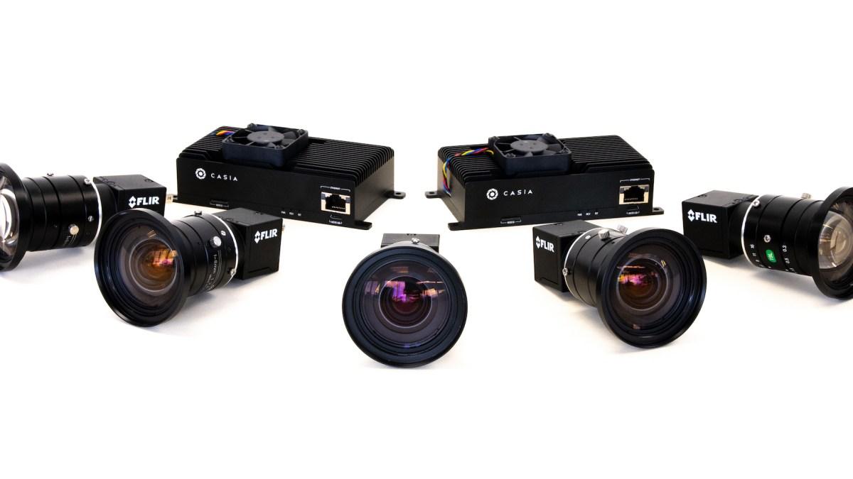 Iris Automation Casia 360 cameras