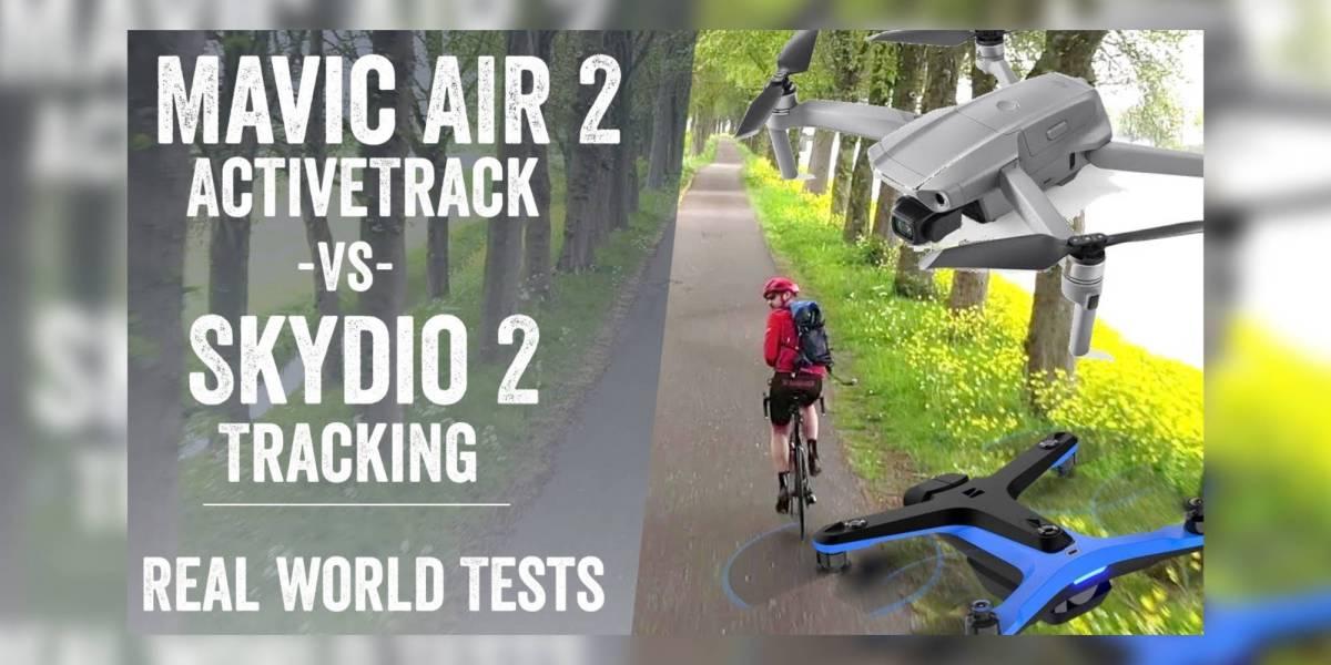 DJI Mavic Air 2 Skydio 2 ActiveTrack 3.0