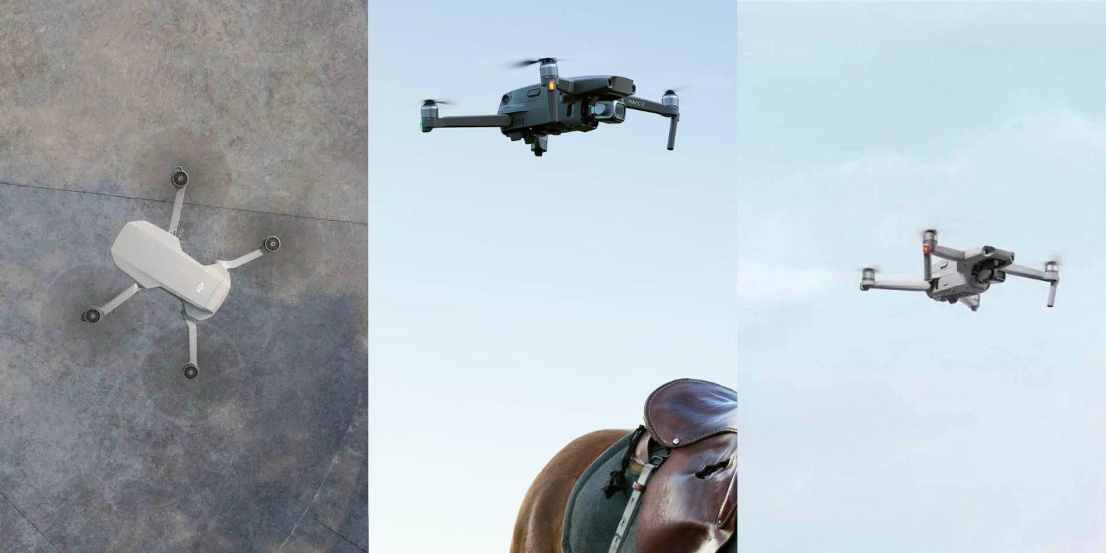 Dji Mavic Air 2 Versus Mavic Mini Versus Mavic 2 Pro Dronedj