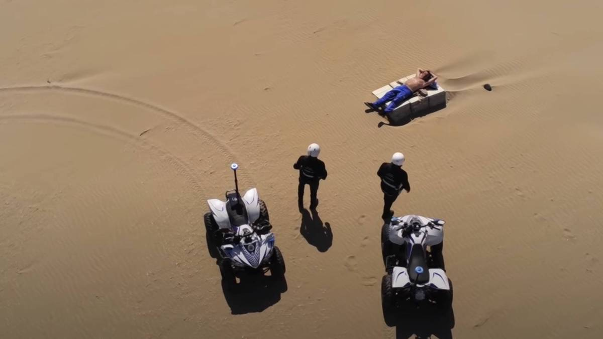 Italian beachgoer drone fined COVID-19