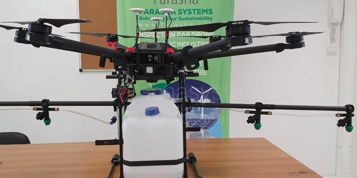 Moroccan drone coronavirus