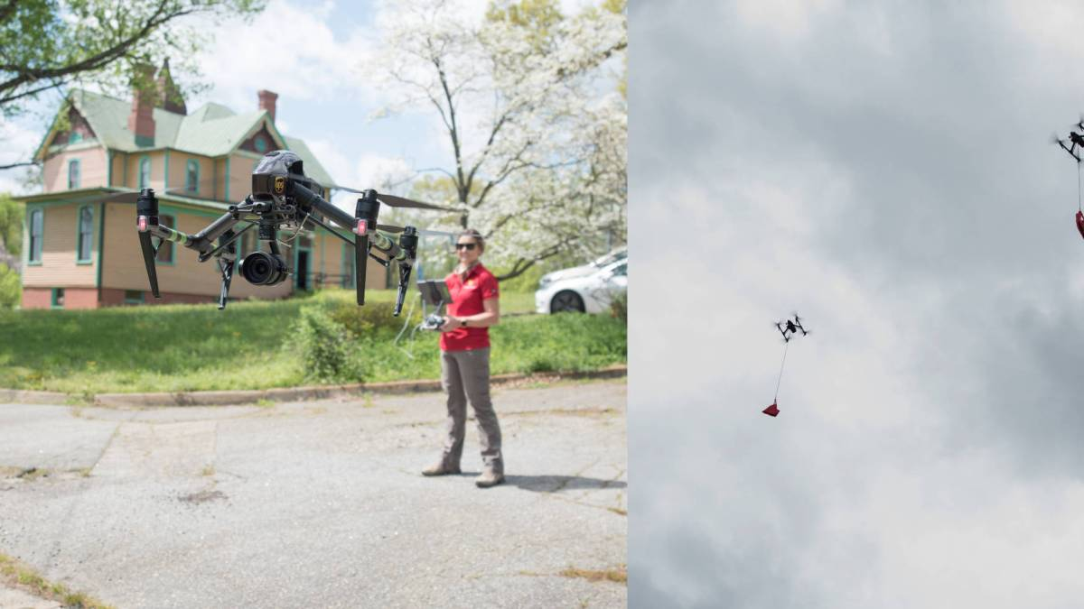 UPS Workhorse group drones