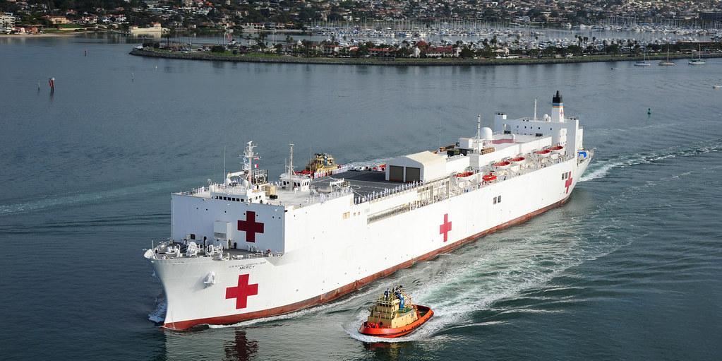 USNS Mercy Hospital Ship