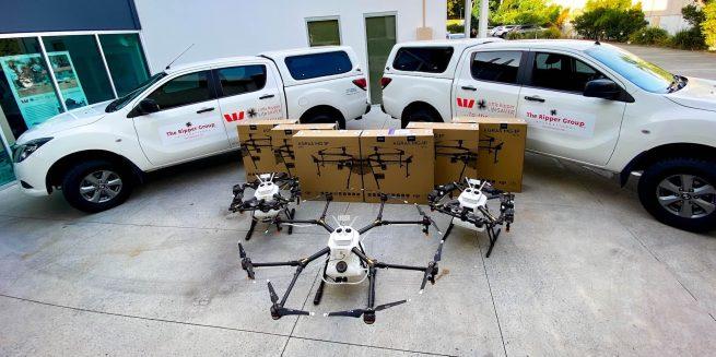 Westpac Little Ripper DJI drones