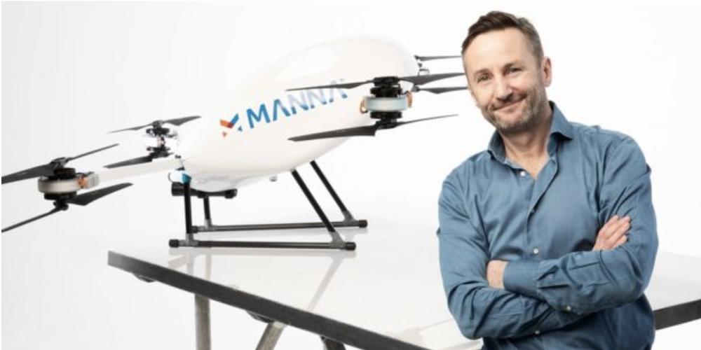 drone delivery ireland