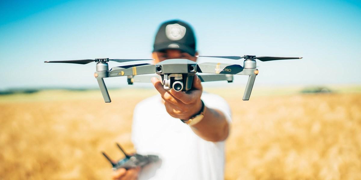 drones fight locusts