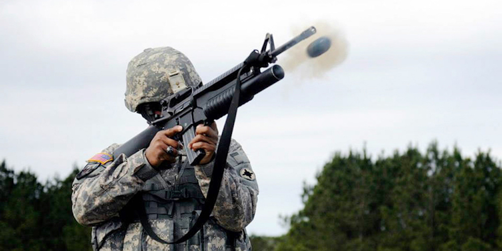 fire drone from grenade launcher
