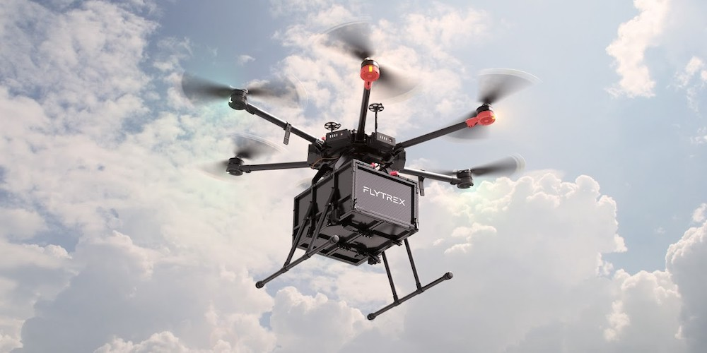 flytrex drone delivery