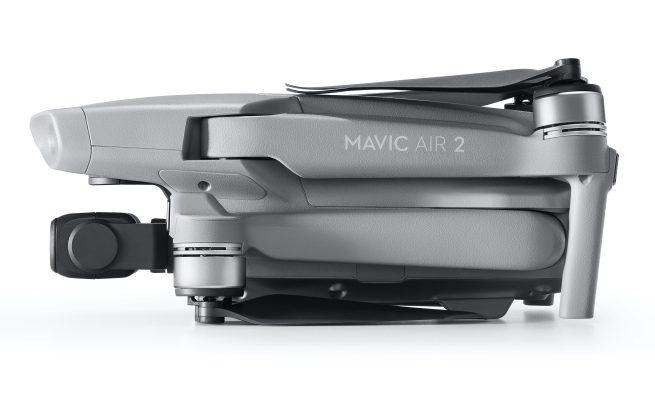 mavic air 2 folded