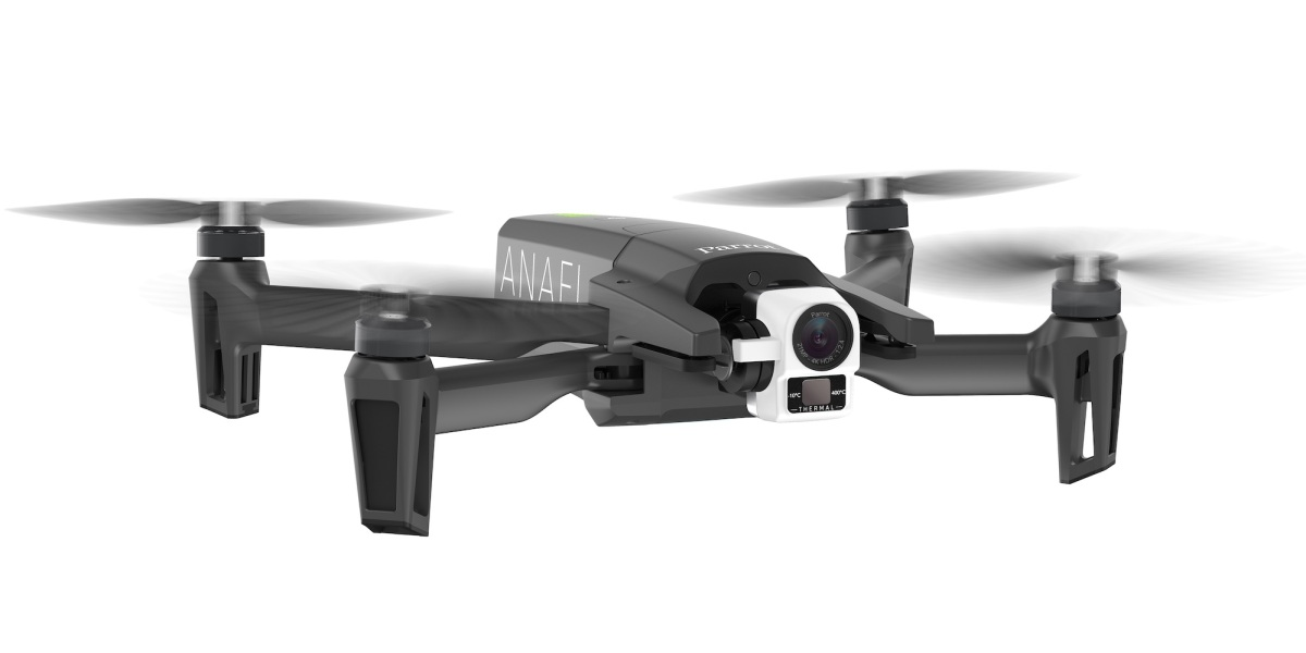 parrot drones army