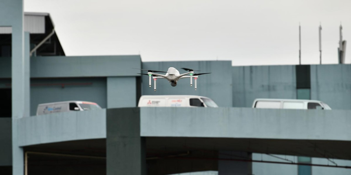 Autonomous surveillance drones Singapore