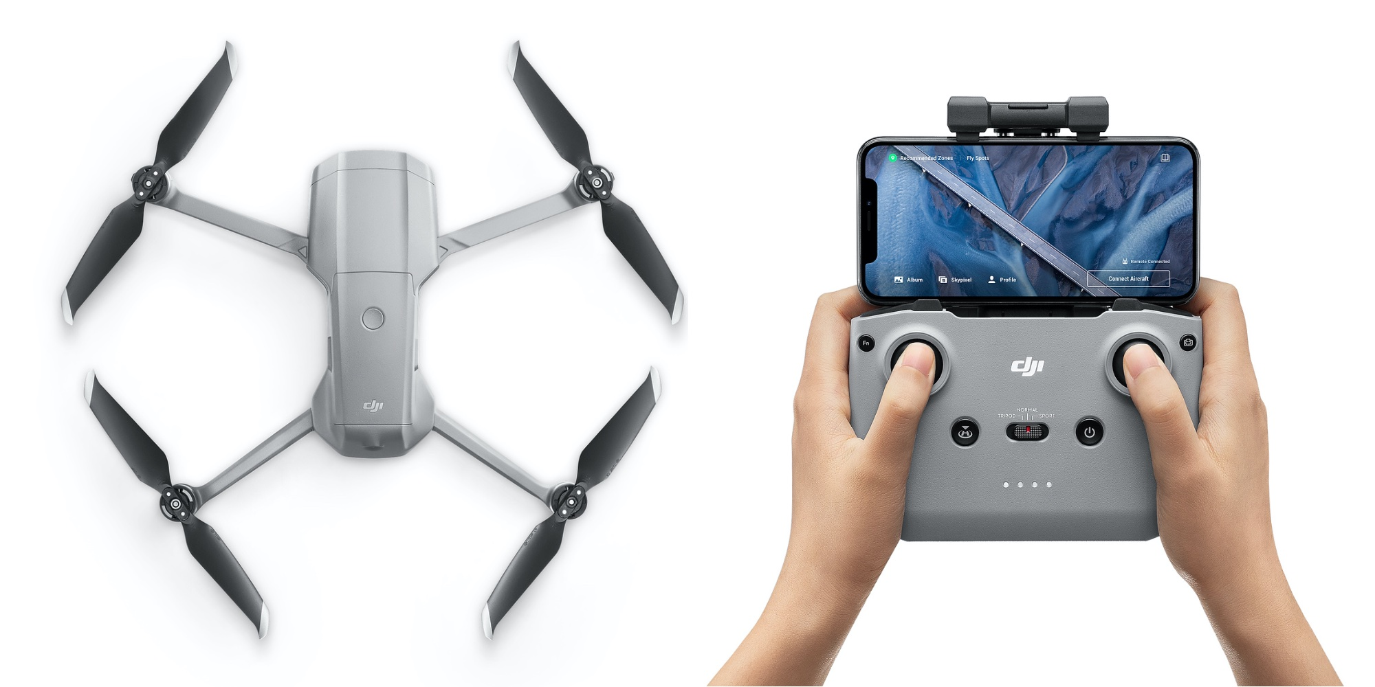 Dji Mavic Air 2 And Fly More Combo Land On Apple Com Dronedj