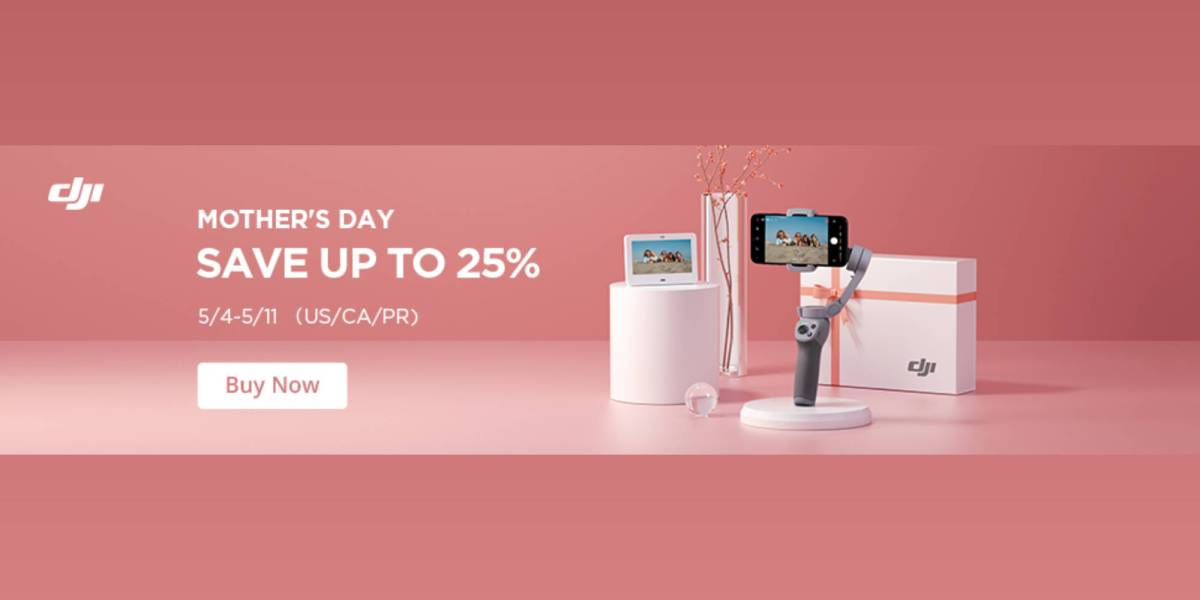 DJI Osmo Mobile 3 Mother's Day
