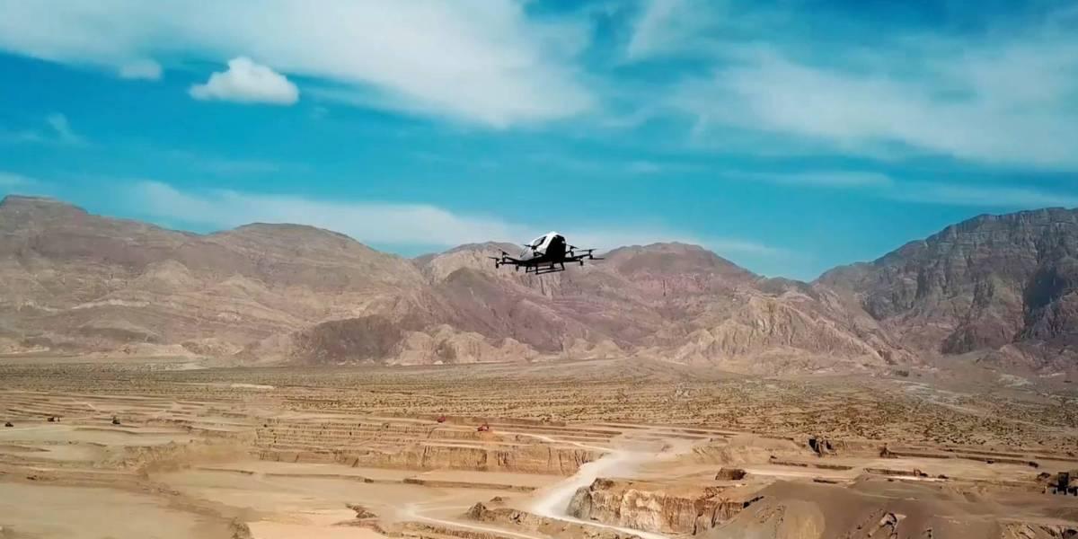 EHang cargo drones
