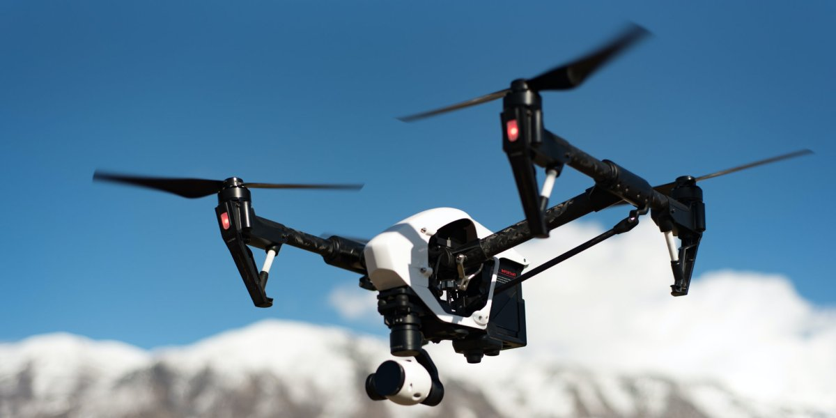 French police surveillance drones