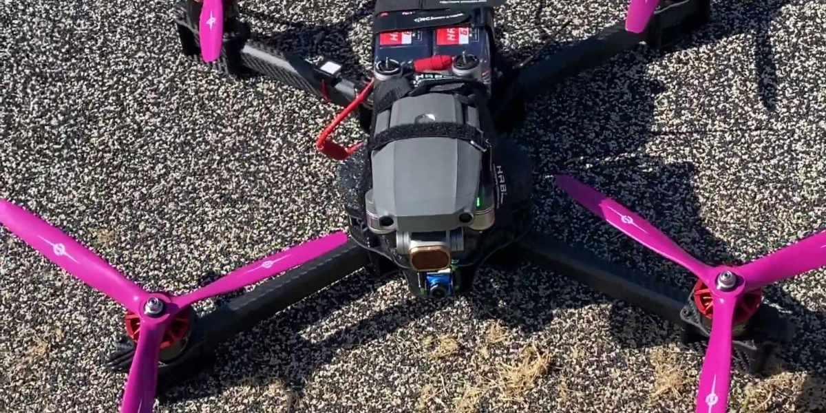Mavic Air 2 FPV drone